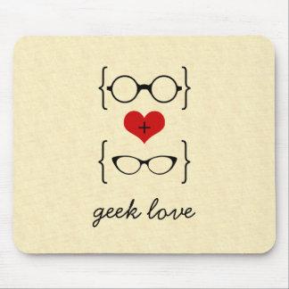 Geeky Glasses Mousepad
