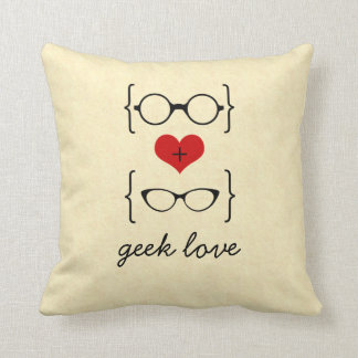 Geeky Glasses Pillow