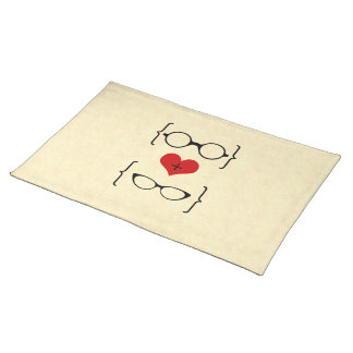 Geeky Glasses Placemat