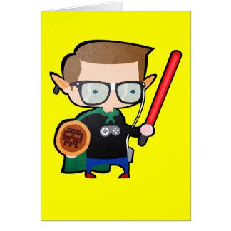 Geeky Greeting Card