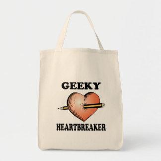 GEEKY HEARTBREAKER TOTE BAGS