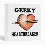 GEEKY HEARTBREAKER BINDERS