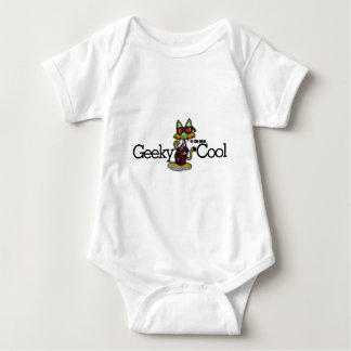 Geeky is the new cool baby bodysuit