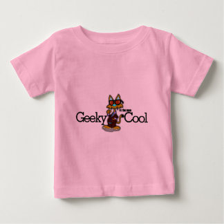 Geeky is the new cool baby T-Shirt