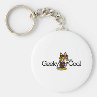 Geeky is the new cool key chains
