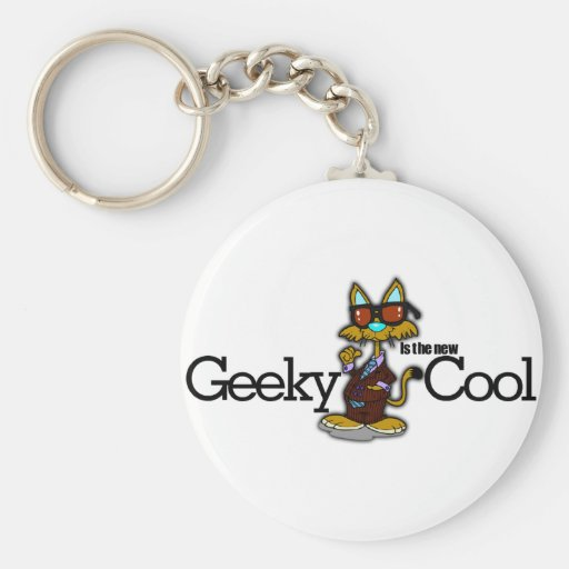 Geeky is the new cool keychain