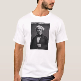 Geeky Magnetism (Michael Faraday) T-Shirt