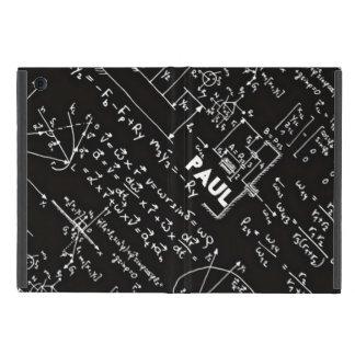 Geeky Math Mathematics Nerd Personalized iPad Mini Case