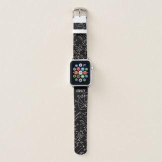 Geeky Math Mathematics Personalized Apple Watch Band