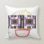Geeky Moon Pillow