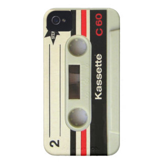 Geeky nerdy 1980s cassette retro cassette tape iPhone 4 case
