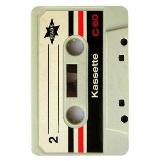 Geeky nerdy 1980s cassette retro cassette tape magnet