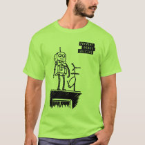 Geeky Robot Suicide T-Shirt