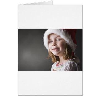 geeky santa elf card
