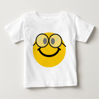 Geeky smiley baby T-Shirt