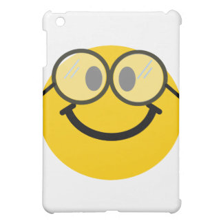 Geeky smiley cover for the iPad mini