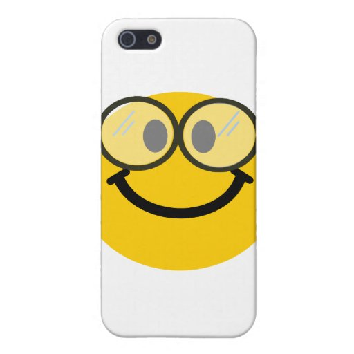 Geeky smiley cases for iPhone 5