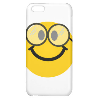 Geeky smiley iPhone 5C covers