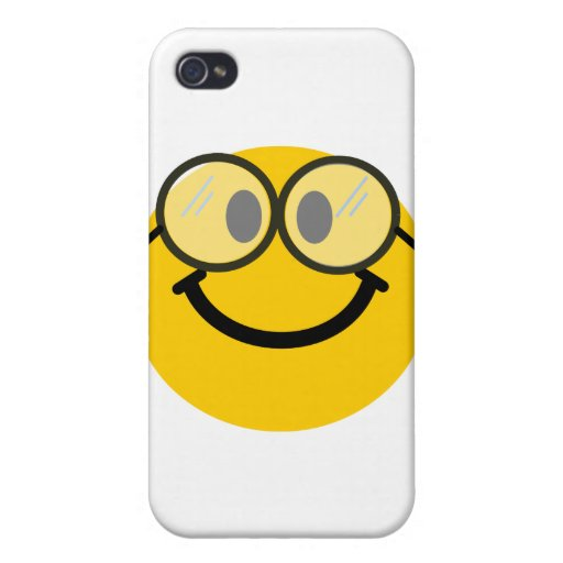 Geeky smiley case for iPhone 4