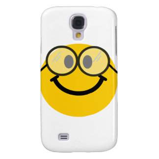 Geeky smiley samsung galaxy s4 cover