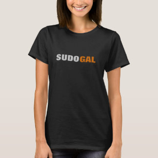 Geeky Sudo Gal T-Shirt