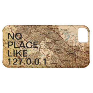 Geeky Vintage Silicon Valley Map iPhone Case iPhone 5C Cases