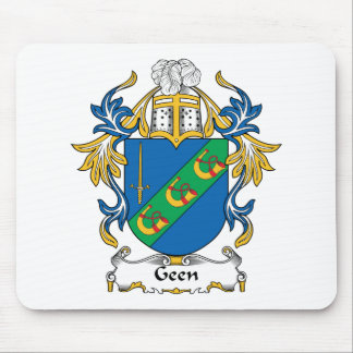 Geen Family Crest Mouse Mats