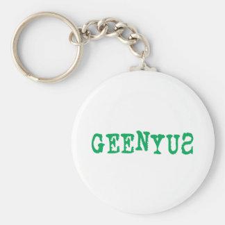 Geenyus Keychain