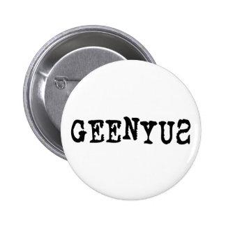 Geenyus Pinback Button