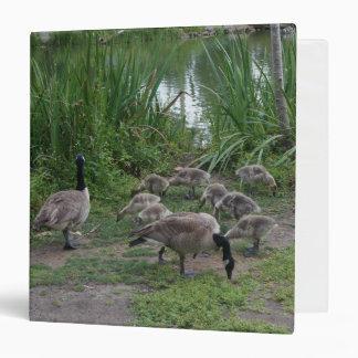 Geese and Goslings Binder