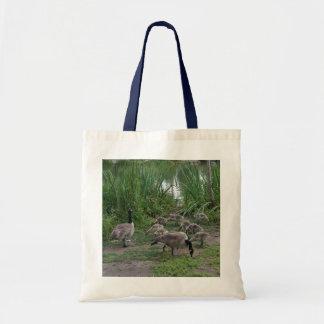 Geese and Goslings Tote Bag