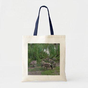 everydaylifesf Geese and Goslings Tote Bag