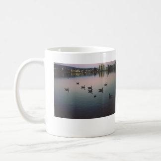 Geese at Sunset, Lake Merritt, Oakland, CA Coffee Mug
