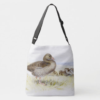 Geese Birds Animals Wildlife Shoulder Tote Bag