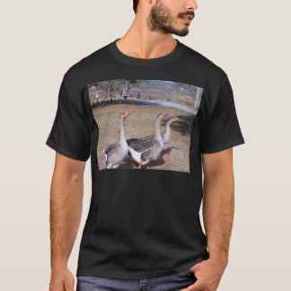 Geese by the Pond T-Shirt