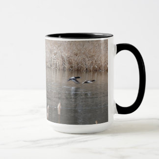 Geese in Flight Mug