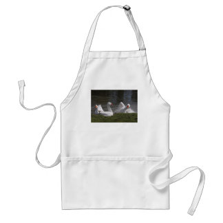 Geese in the Duckpond Adult Apron