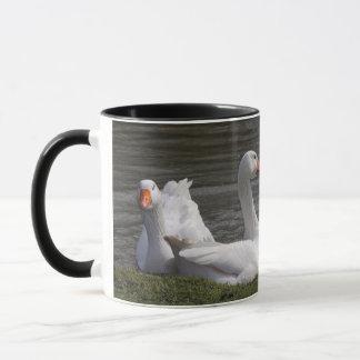 Geese in the Duckpond Mug