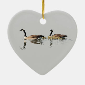 Geese Love Ornament