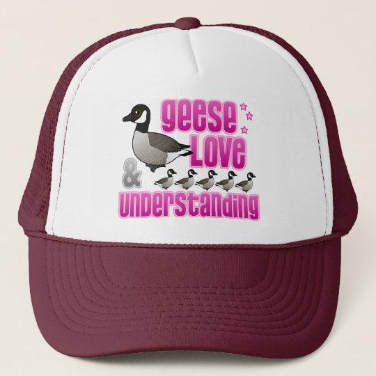 Geese, Love & Understanding Trucker Hat