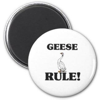 GEESE Rule! Fridge Magnet