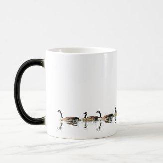 Geese swim around your Mug mug