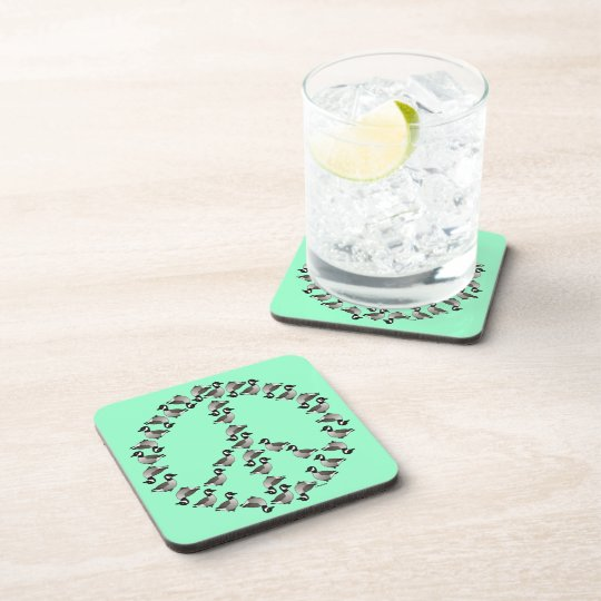 Geese Symbol Drink Coaster