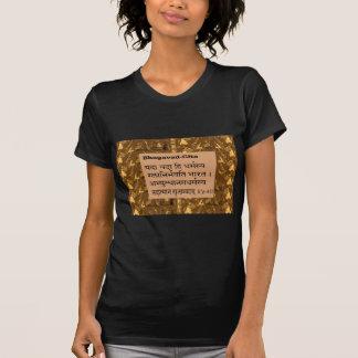 GEETA Mantra :Krishna Mahabharata Wartime Talk Tee Shirt