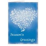 Geetings de la estación - tarjeta