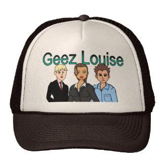 Geez gorra del camionero de Louise