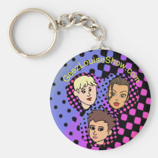 Geez Louise Group Colorful Keychain