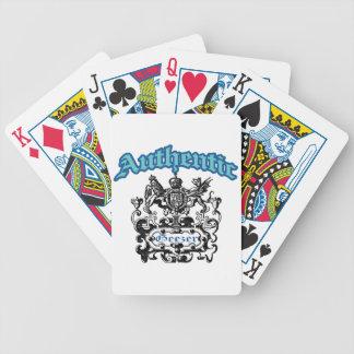 Geezer auténtico baraja de cartas