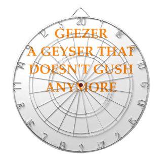 GEEZER DARTBOARD