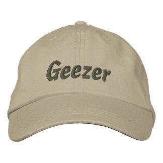 Geezer Embroidered Cap / Hat